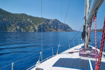 canicule en bateau